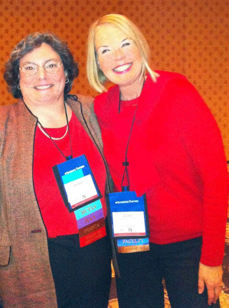 Laurie Edwards-Tate with Andrea L. Devoti