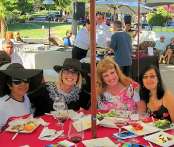 Members of At Your Home Familycare staff enjoying this event: From Left to Right:  Jeannette Smith, Laurie Edwards-Tate, Terre Davis, and Christina Meade.