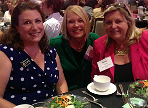 Left: Philomena Rafo, District Director, Senator Mark Wyland; center: Laurie Edwards-Tate, President AYHF; right: Donna Cleary, Deputy Chief of Staff, Senator Mark Wyland.